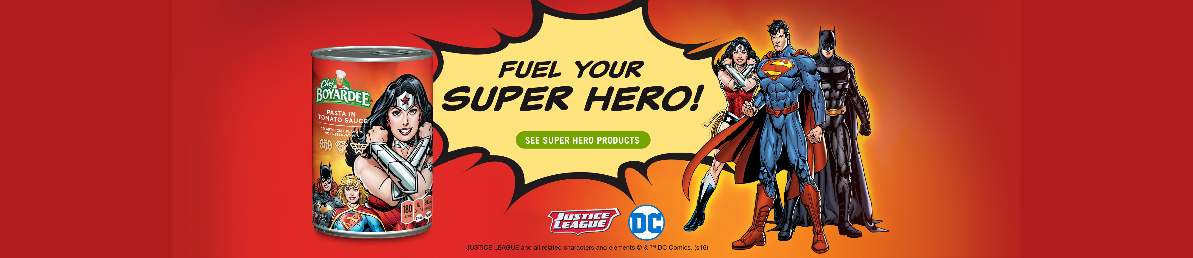 Fuel your Super Hero