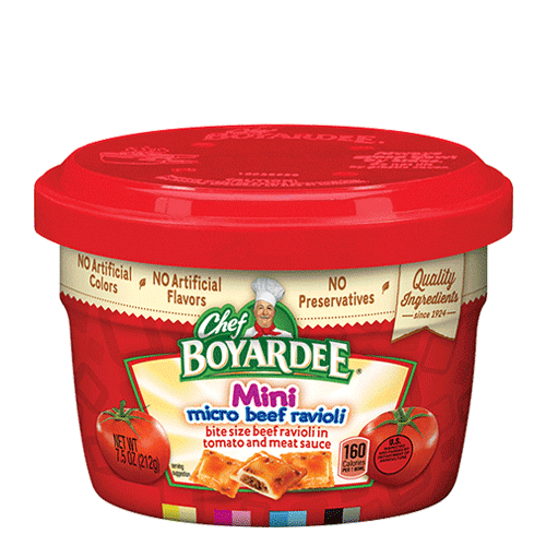 Canned Beef & Cheese Ravioli | Chef Boyardee | Chef Boyardee